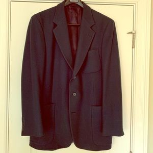 Men's Andre Villard of Paris Blue Sports Coat